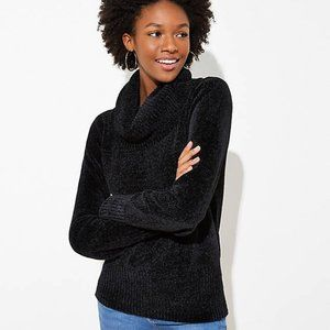 LOFT Women's NWT Chenille Cowl Neck Sweater